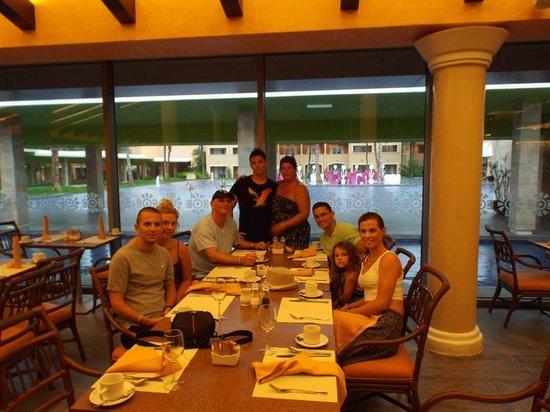 Hotel Barcelo Maya Beach: Buffet