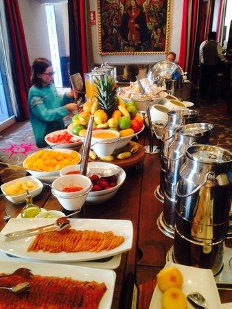 Palacio del Inka, a Luxury Collection Hotel: Increíble desayuno