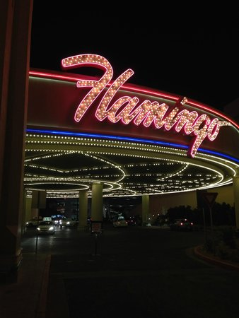 Flamingo Las Vegas Hotel & Casino: Sign outside - lovely, retro Vegas style