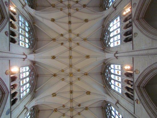 Cathédrale d'York : The ceiling