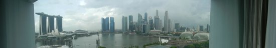 Mandarin Oriental, Singapore: View from my room on the 12th floor
