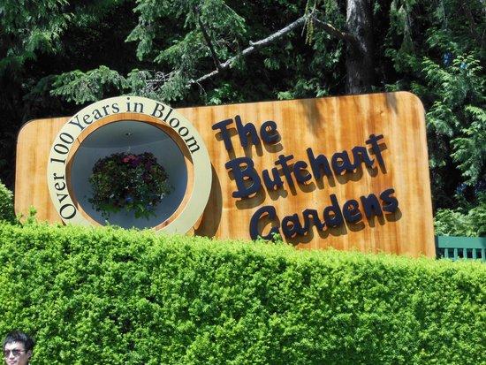 The Butchart Gardens: Beautiful!