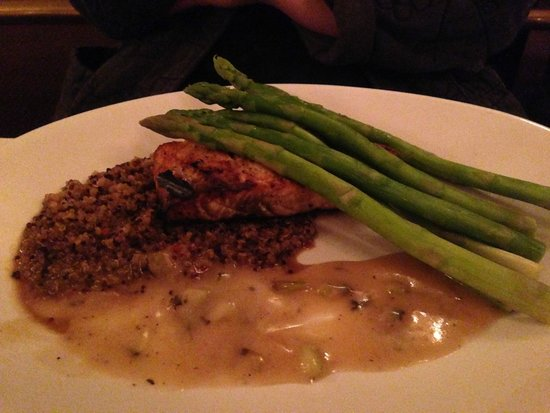 North Atlantic Salmon @ Cobblestones of Lowell, 91 Dutton Street, Lowell, MA
