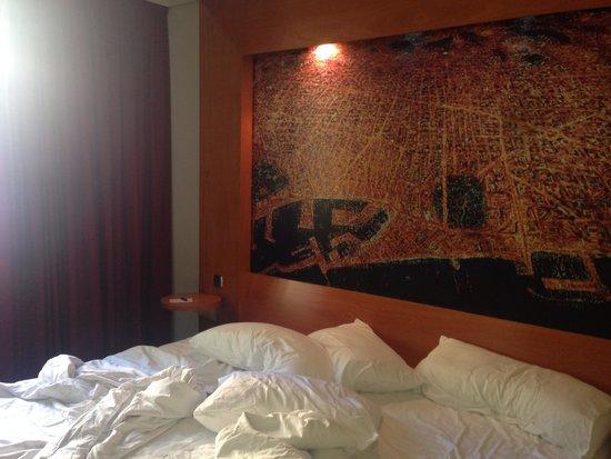 Abba Sants Hotel : Habitación.