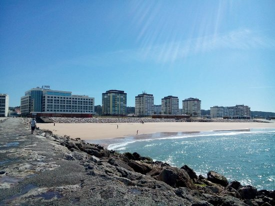 Ever Caparica - Beach & Conference Hotel : Очень близко от океана