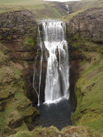 Obyggdaferdir ATV: Þjofafoss waterfall