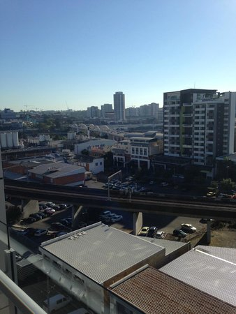 South Central: View from the balcony
