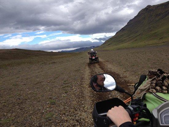 Obyggdaferdir ATV: ATV Tour Iceland