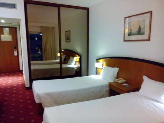 Ever Caparica - Beach & Conference Hotel : Шкаф удобный, много вешалок. Есть два шерстяных одеяла на случай холода.