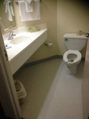 Motel 6 London Ontario: Bathroom