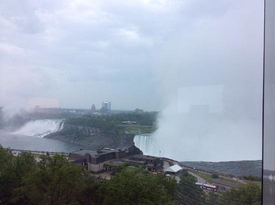 Marriott Niagara Falls Fallsview Hotel & Spa: view from the window of room 922