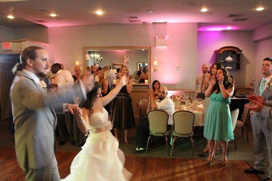 Joseph Ambler Inn: Bride and Groom entrace