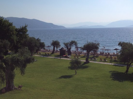 Dassia Chandris: View from Hotel's main terrace