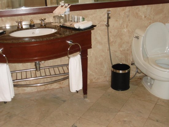 Le Meridien Kota Kinabalu: 洗面・トイレ