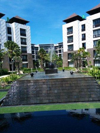 Pullman Bali Legian Beach : Hotel lobby view