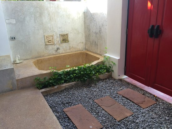 The Old Phuket: The private jacuzzi