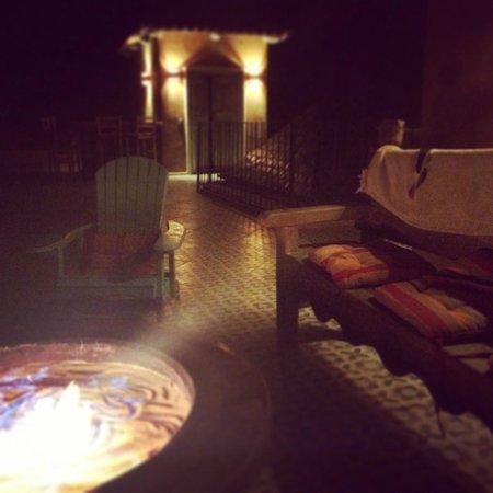 Villa Santa Cruz: Fire Pit