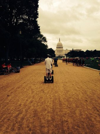 Bike and Roll DC: Segway-ing to the Capitol