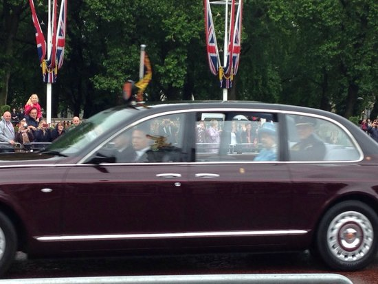 Buckingham Palace: The Queen and the prince
