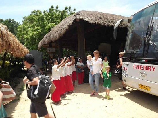 El Nido Resorts Apulit Island : Welcoming