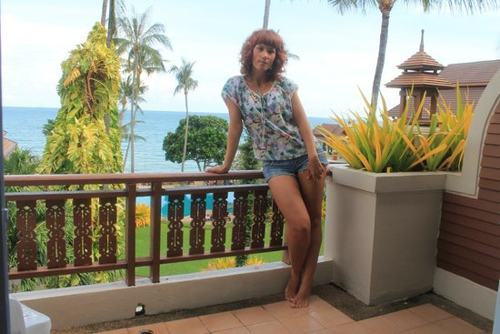 Aloha Resort: Балкон и вид с него
