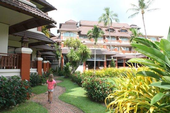 Aloha Resort: Основной корпус