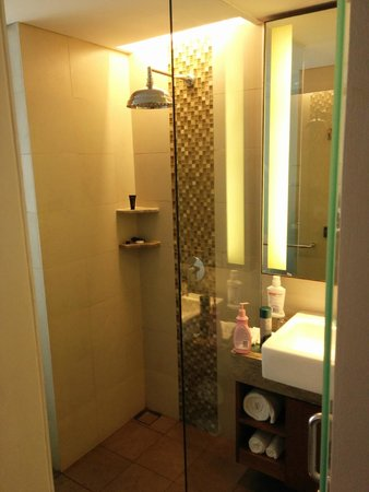 Sun Island Hotel & Spa Legian : Bathroom, compact but bagus.