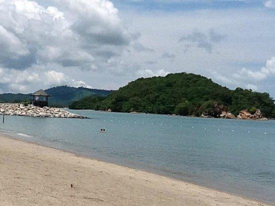 Vivanta by Taj Rebak Island, Langkawi: View from Beach