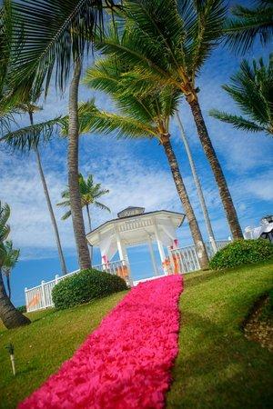 Paradisus Punta Cana Resort : Our beach side gazebo wedding