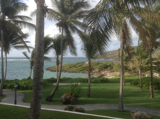 St. James's Club & Villas : view from the room verandah