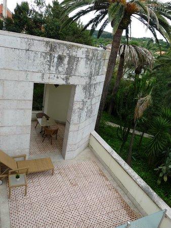 Pestana Palace Lisboa Hotel & National Monument: Terrasse privée