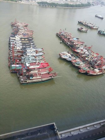 Sofitel Macau at Ponte 16: The dock view