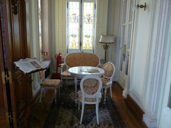 Pestana Palace Lisboa Hotel & National Monument : Petit salon
