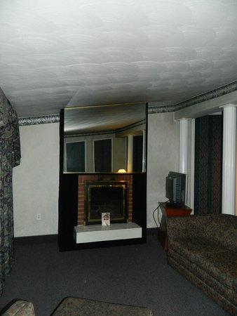 Cove Haven Resort: Living room