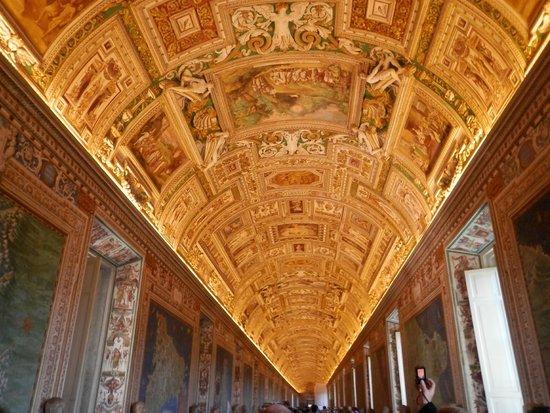 Sixtinische Kapelle: SALA CARTOGRAFICA museos vaticanos vale la pena observa los años