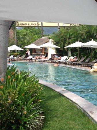 Garza Blanca Preserve, Resort & Spa: Pool area