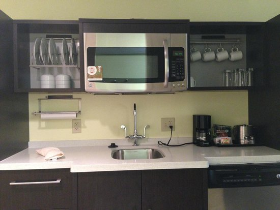 Home2 Suites by Hilton Pittsburgh / McCandless, PA: Kitchen Area