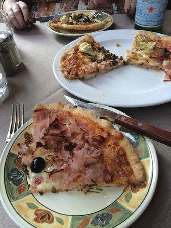 Le Botteghe di Donatello : Gluten-free pizza