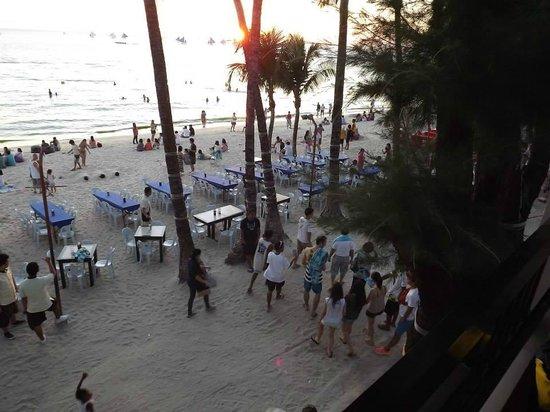 La Carmela de Boracay : view from our balcony