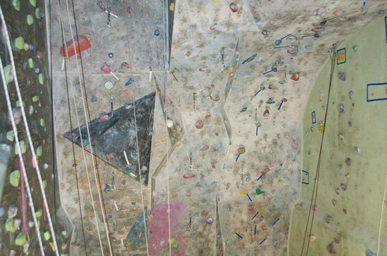 Of Rock & Chalk Indoor Rock Climbing Gym