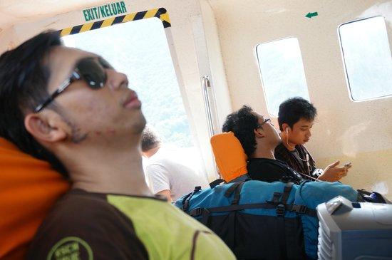 Marina Srikandi Fast Boat: Inside