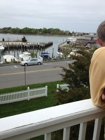 Sag Harbor Inn: view from room