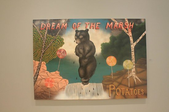 Museum of Wisconsin Art: Dream of the Marsh Potatoes