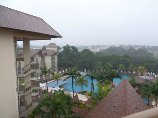 Recanto Cataratas Thermas Resort & Convention: Vista Panorâmica Piscina
