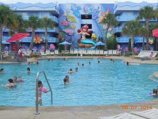 Flippin Fins Pool Little Mermaid Section Picture Of Disney 39 S Art Of Animation Resort