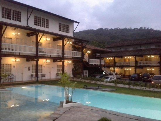 Hotel Luisiana: vista desde la pool