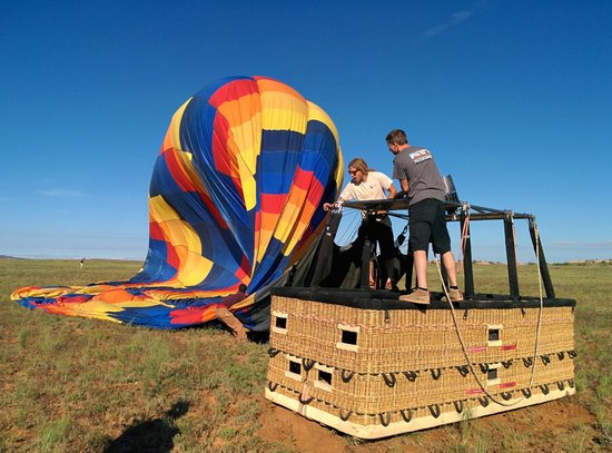 Canyonlands Ballooning : journey's end