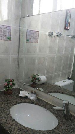 Hotel Imperador : Banheiro sujo