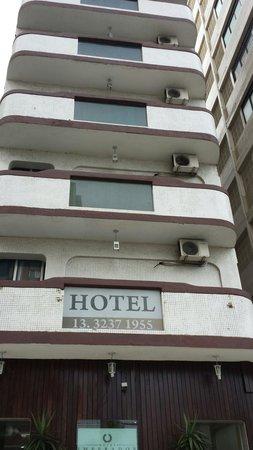 Hotel Imperador : Fachada do hotel
