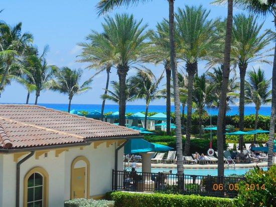 Marriott's Ocean Pointe: View from balcony